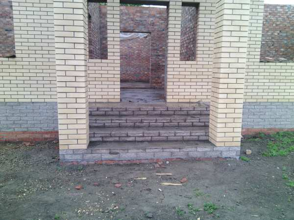 Кирпичная кладка, бетонные работы
