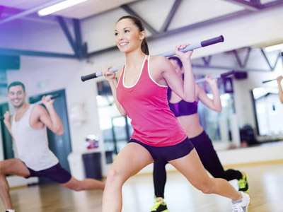 Фитнес, салоны красоты