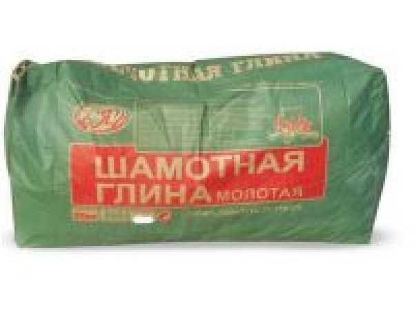 шамотная глина 20 кг