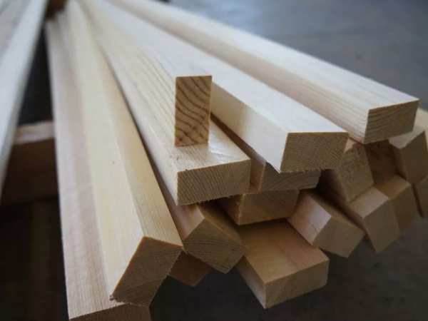 деревянная рейка монтажная
