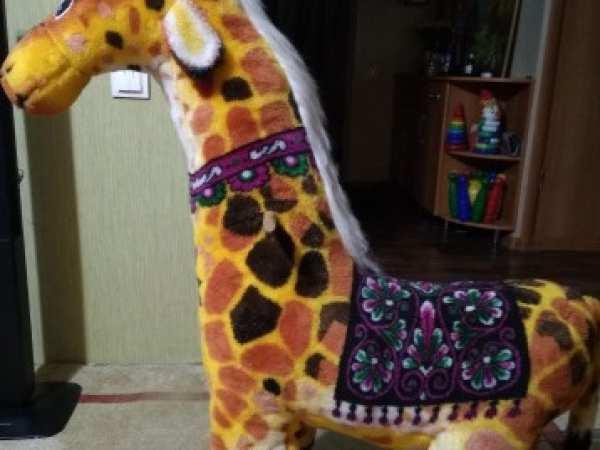 Жираф в Тимашевске