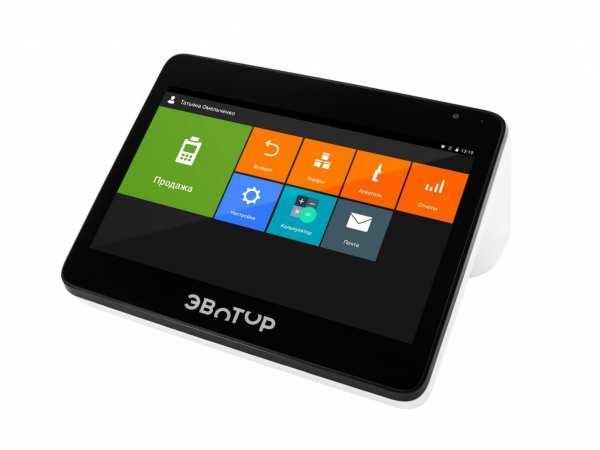 Эвотор 10 онлайн касса планшет
