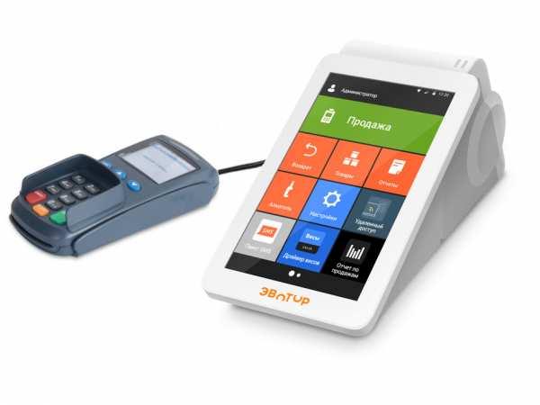 Эвотор 7.2 мобильная переносная касса