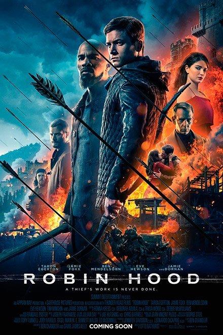 Робин Гуд: Начало Афиша Кино  В кино с 29 ноября 2018 года.  Новый взгляд на приключения всеми любимого...