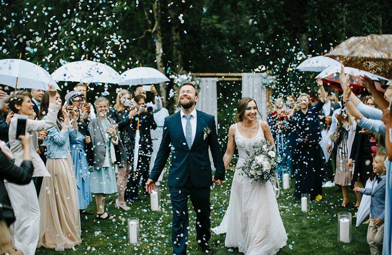 Поздравления с браком для молодоженов