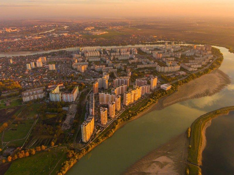 Краснодарский край вошел в ТОП-3  регионов с самым большим числом жителей