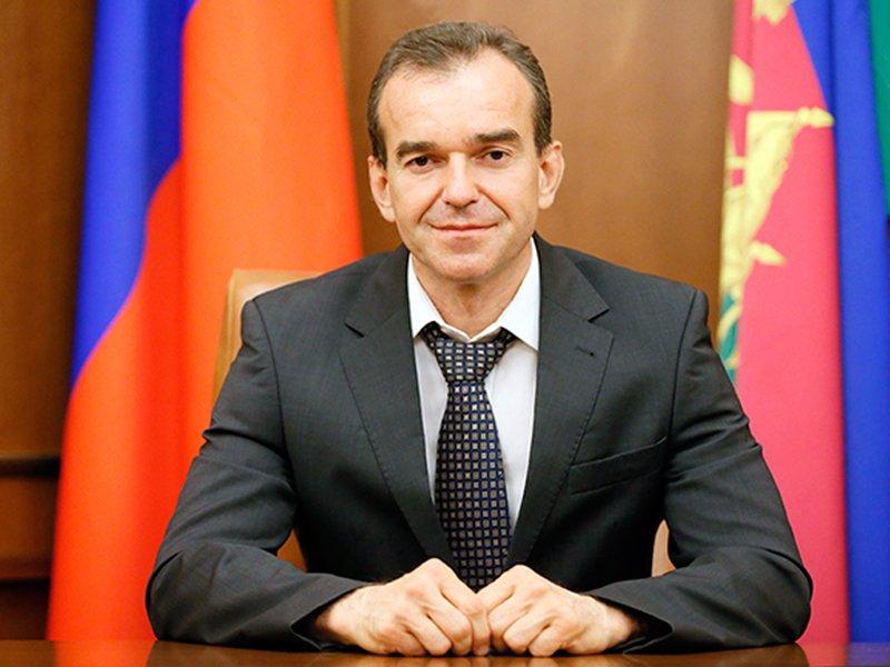Президент повысил статус губернатора Краснодарского края