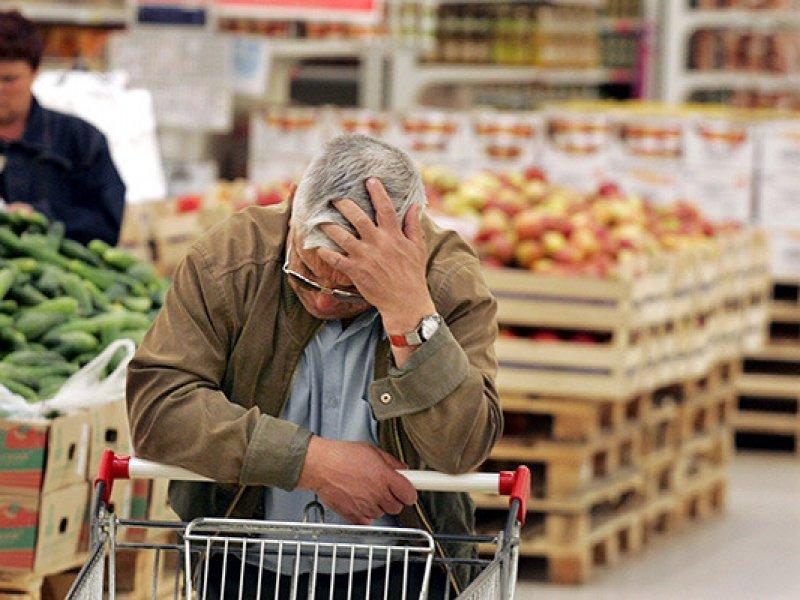 В России инфляция  в марте ускорилась до 5,3%