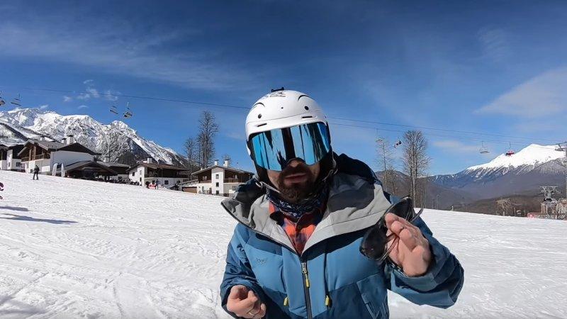 Как себя вести на горнолыжном курорте Видео Путешествия