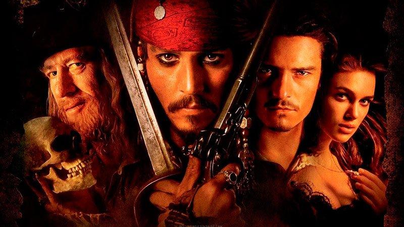 Пираты Карибского моря: Проклятие черной жемчужины (2003) Видео Кино