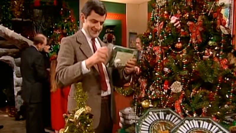 Merry Christmas Mr Bean Видео Приколы