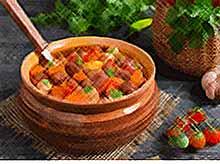 Вкусные рецепты:овощное рагу с болгарским перцем
