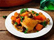 Осенние рецепты: куриные ножки с тыквой и грибами