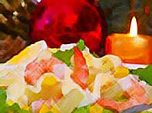 Новогодние рецепты: красивые салаты