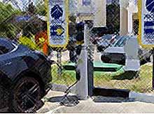 На побережье Краснодарского края  появится 100 электрозаправок для автомобилей