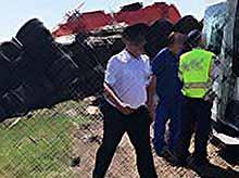 В Тимашевском районе   произошла массовая авария с шестью автомобилями