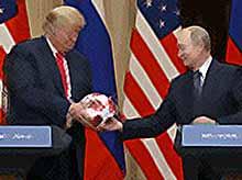 """На встрече в Хельсинки Путин  """"был силен"""""""