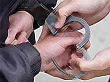 Задержан за наркотики