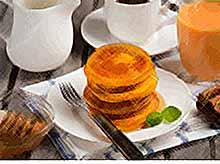 Осенние рецепты: тыквенные оладьи