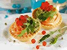 Вкусные тарталетки на Новый год