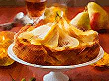 Осенние рецепты : вкусный грушевый пирог