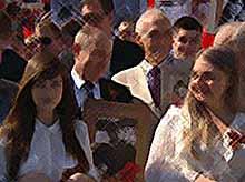 """Владимир Путин принял участие в шествии """"Бессмертного полка"""""""