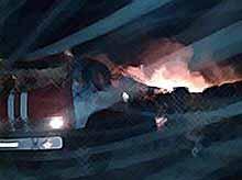 В Тимашевске произошел крупный  пожар