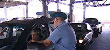 На границе с Абхазией пассажирский трафик достиг 50 тысяч в сутки