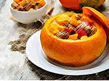 Осенние рецепты: жаркое в тыкве