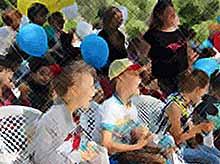Как в Тимашевске отмечают День защиты детей