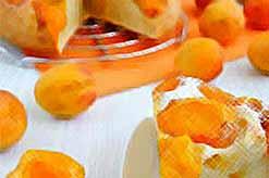Пирог а абрикосами