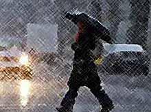 На Кубани прогнозируются дожди с мокрым снегом