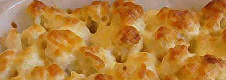 Летние рецепты: цветная капуста запеченая с сыром