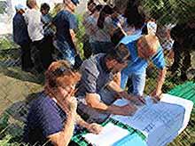 В Новокорсунской работает оперативный штаб по ликвидации ЧС