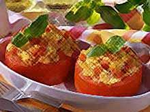 Летние рецепты : фаршированные помидоры