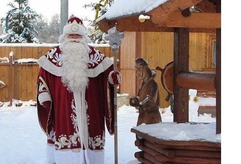 Дед Мороз России отмечает день рождения