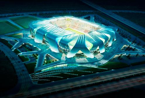Огромный видеоэкран установят на новом стадионе ФК «Краснодар»