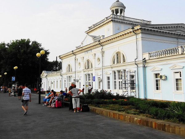 ЖД Вокзал Тимашевска 4