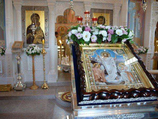 Православный приход Свято-Воскресенского храма поселок Советский Религия