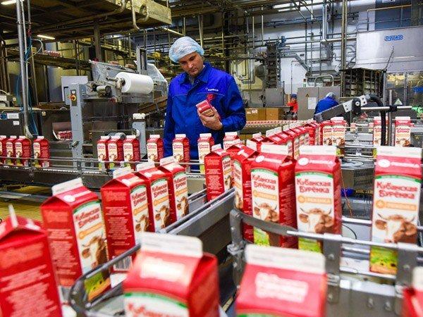 Тимашевский молочный комбинат Производство, сырьё