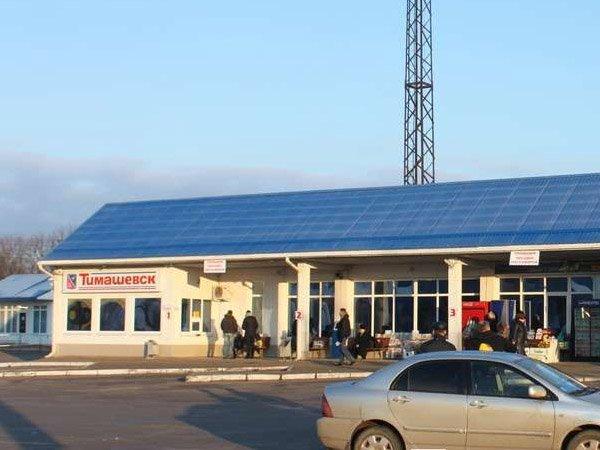 Автовокзал Тимашевска Общественный транспорт