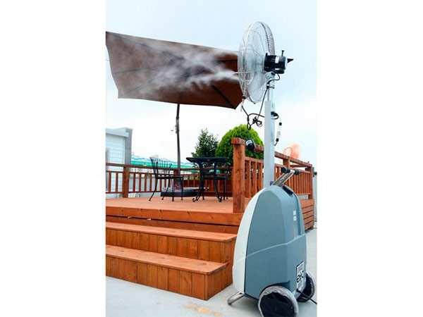 Автономный вентилятор с увлажнителем TecnoCooling MobiCool