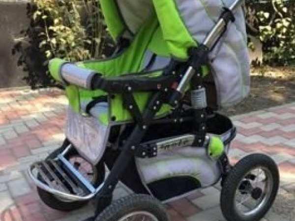 Продается б/у коляска в отличном состоянии