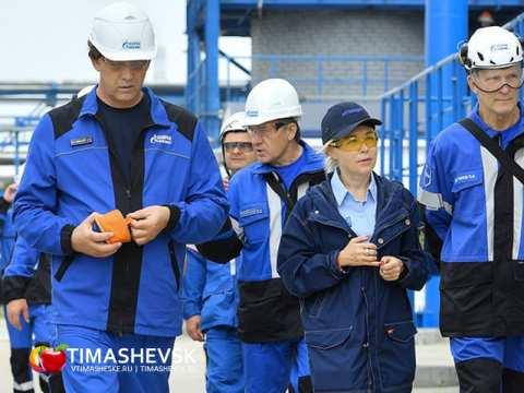 Газпром межрегионгаз Краснодар, участок в Тимашевском районе