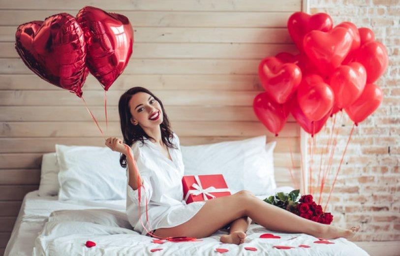 Что хотят получить в подарок на День святого Валентина ?