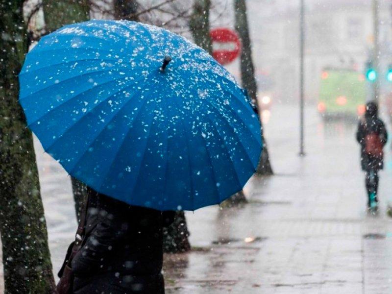 На Кубани ожидаются дожди с мокрым снегом