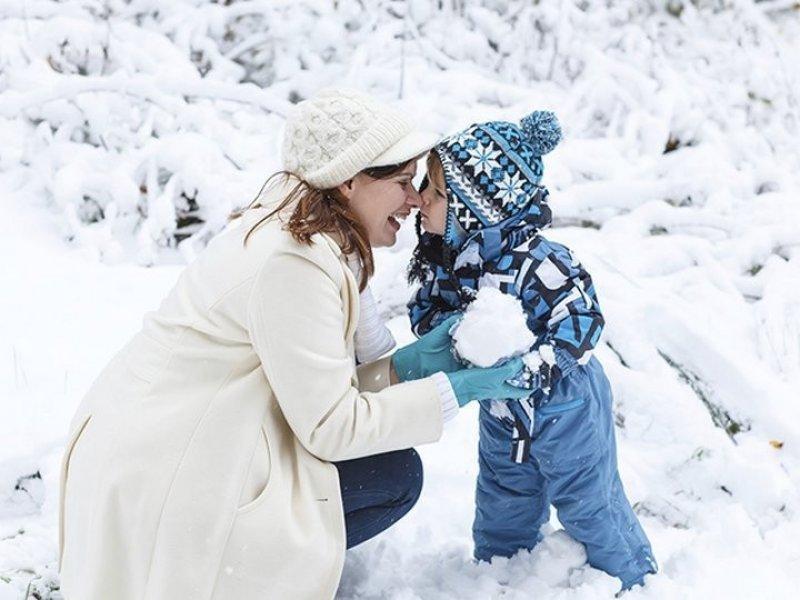 Как одеть малыша зимой так, чтобы он не замерз