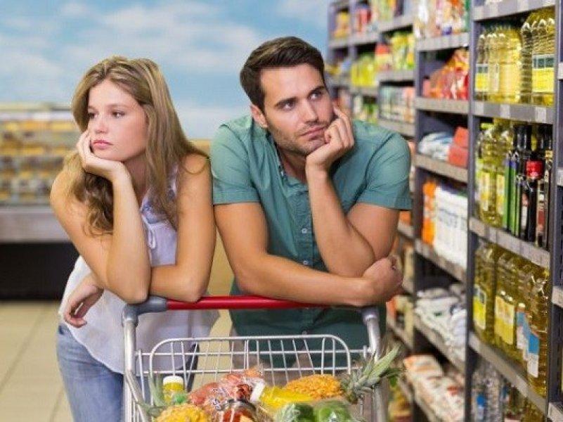 В России цены на продукты питания выросли в два раза больше, чем в ЕС