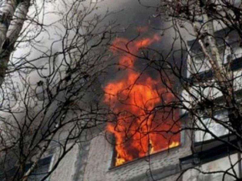 В Краснодаре  при пожаре в многоэтажке пострадали шестеро детей
