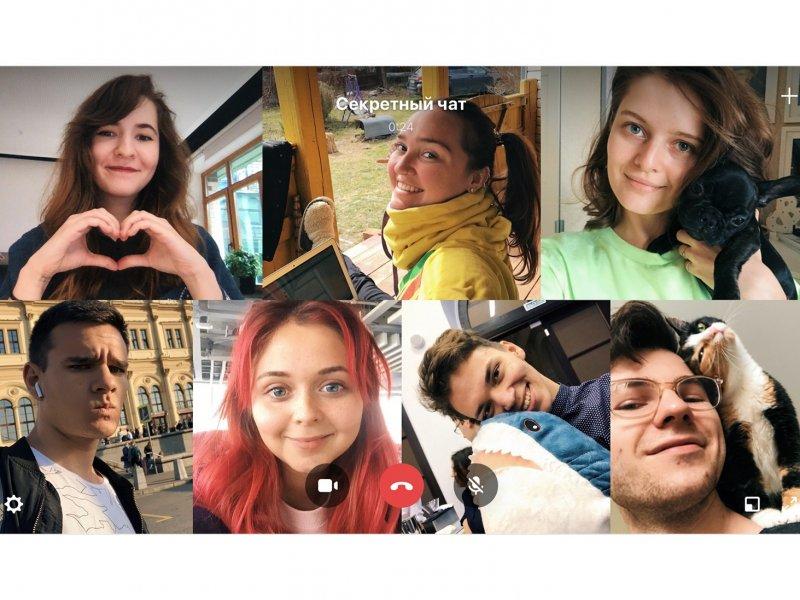 В соцсети ВКонтакте появилась функция групповых видеозвонков